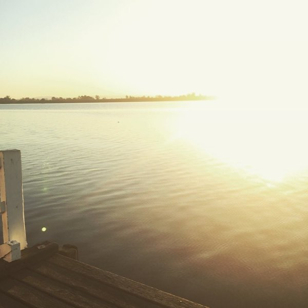 Sunset on the Clarence River...
