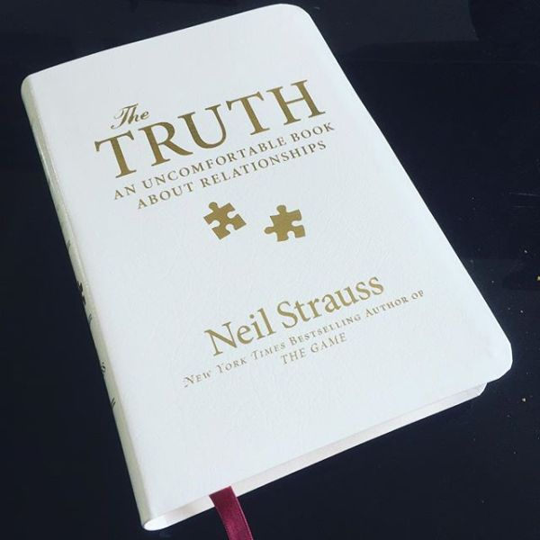 'The Truth' has arrived... Specially bound & signed by @neil_strauss