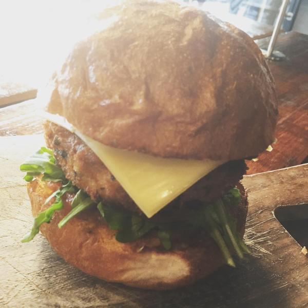 Holier Than Thou vegetarian burger