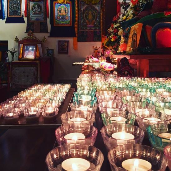 Light Offerings on Je Tsongkhapa day