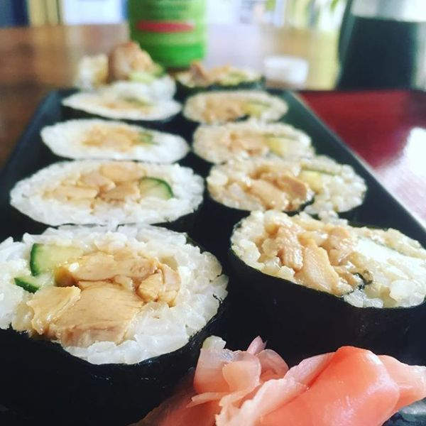 Teriyaki Chicken Sushi
