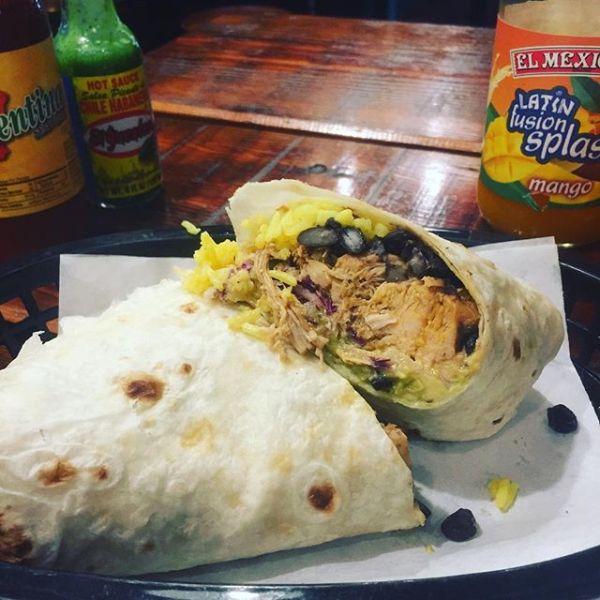 Cinco De Mayo Chicken Burrito