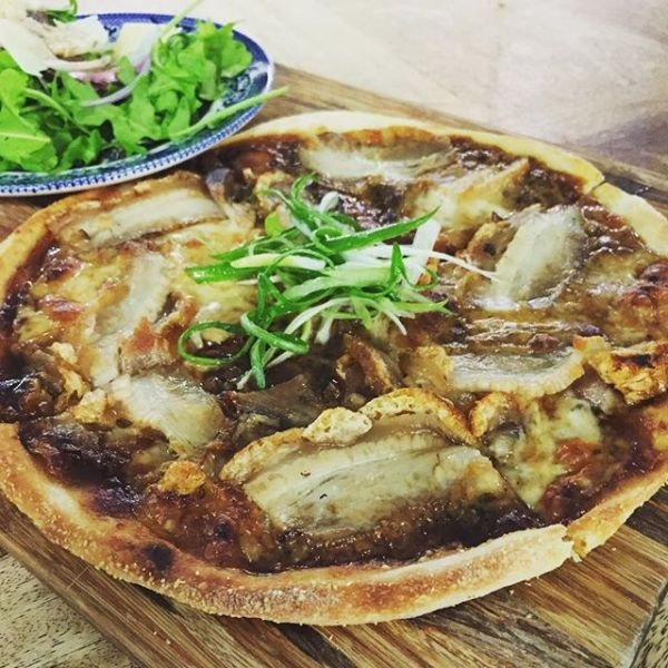 Pork Belly Pizza