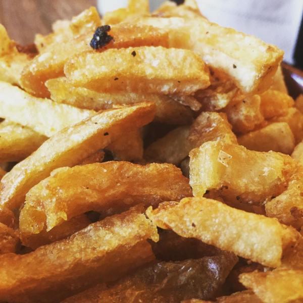 Hand cut Dorrigo fries