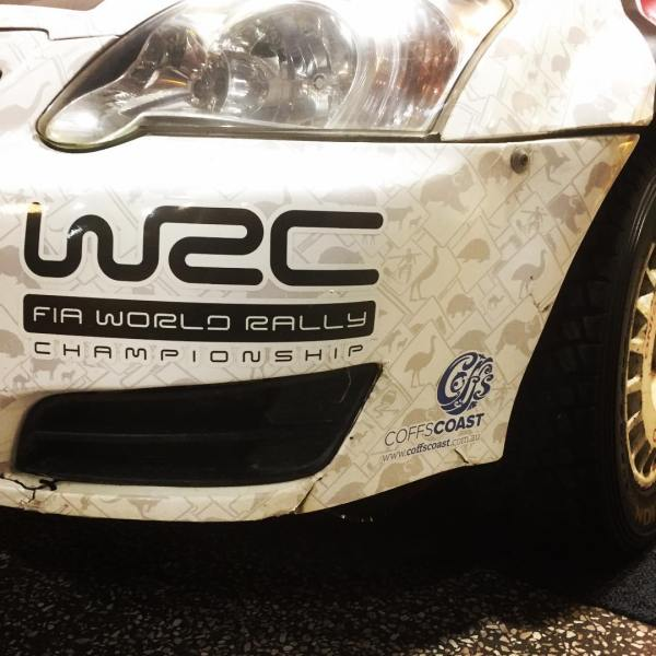Only a fortnight away... Coffs Coast Rally Australia