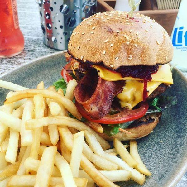 Dagwood Bumstead Burger