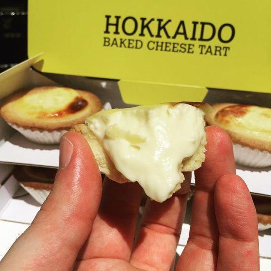 Delicious Hokkaido Baked Cheese Tart