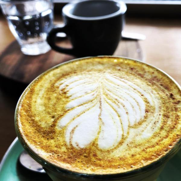 Turmeric Latte & Espresso