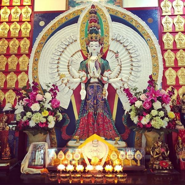 Happy Losar from Chenrezig Institute, Queensland, Australia