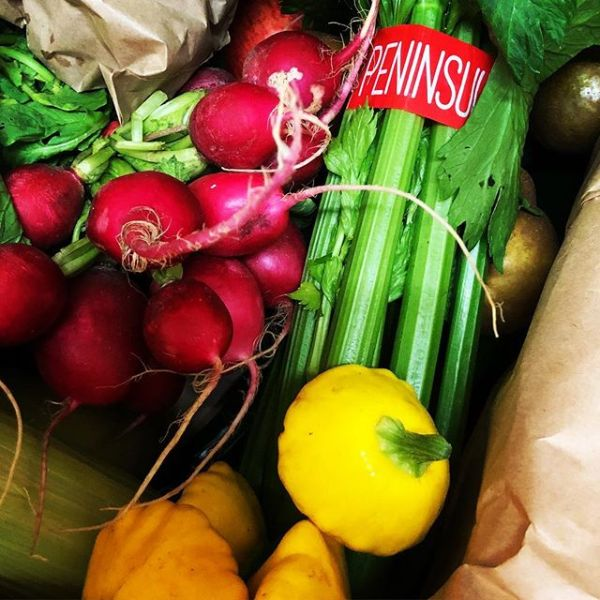 Finally won the @coldcountryorganics fruit & veg box from @theweldersdogarmidale