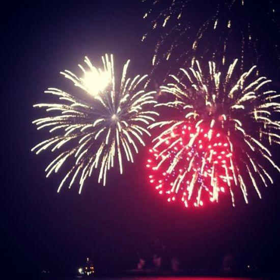Fireworks over Alcatraz