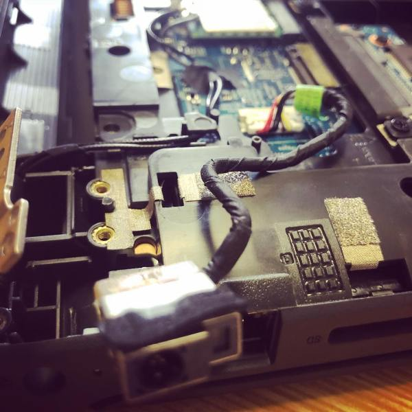 Fixing ProBooks in Walcha