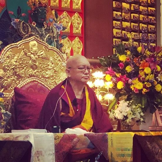Lama Zopa Rinpoche teaching at Chenrezig Institute @lamazoparinpoche