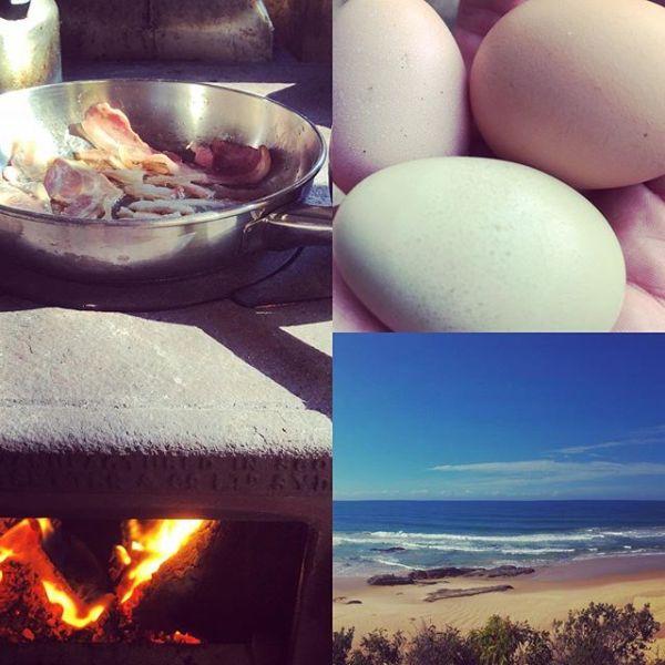 Fire  Bacon 🥓 Coffee ️ Beach 🏖 Bliss