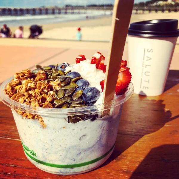 Chai Mermaid smoothie bowl with protein powder @salute.espresso
