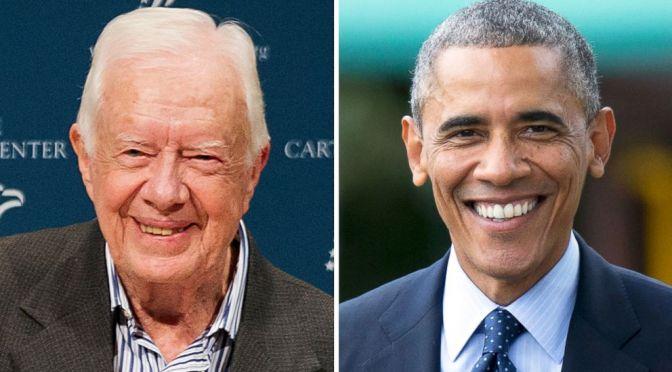 President Carter On President Obama