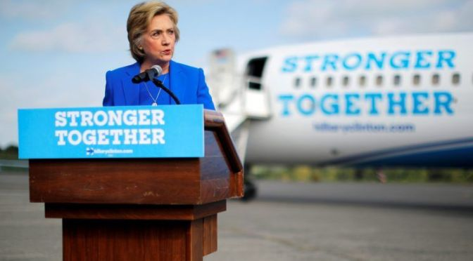 Clinton-Obama Give 'Aid and Comfort'