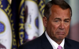 Speaker of the House John Boehner (R)