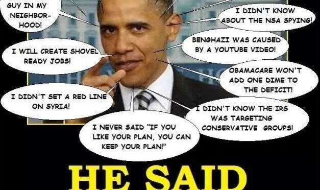 Obama Lies, Media Watchdog Dead
