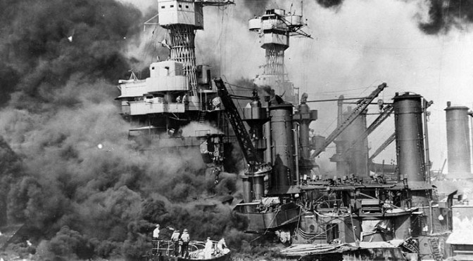 Pearl Harbor Attacked 73 Years Ago Today