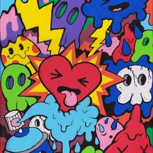 doodle pop art graffiti