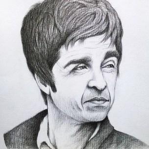 noel gallagher portrait