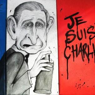 prince charles caricature street art