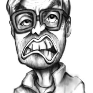 jurgen klopp caricature cartoon