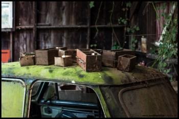 La maison du collectionneur de voitures