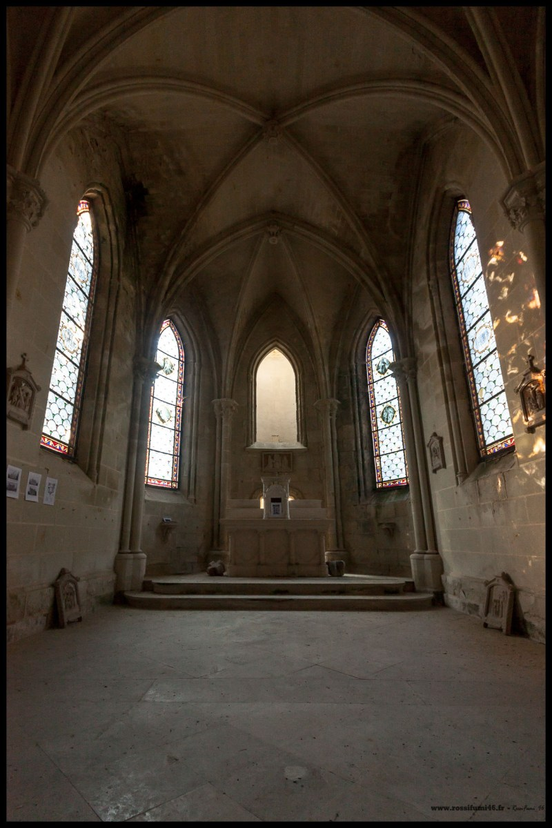 La chapelle de la Mothe Chandenier