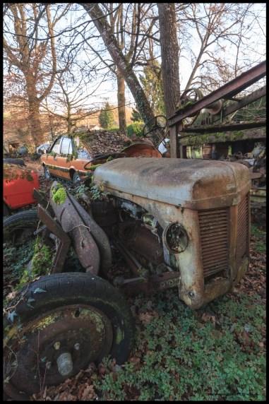 Un tracteur inconnu