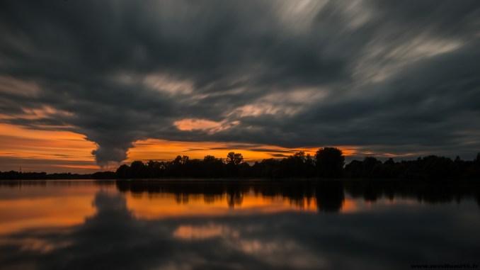 Le soleil à Savonnière 24 aout 2014