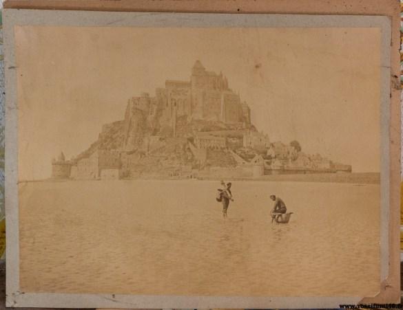 Le Mont Saint Michel avant le drame ..