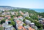 A bird-eye's view of Varna, Bulgaria