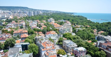 A bird-eye's view of Varna, Bulgaria - rossiwrites.com