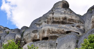 Close-up of the rocks, Madara, Bulgaria