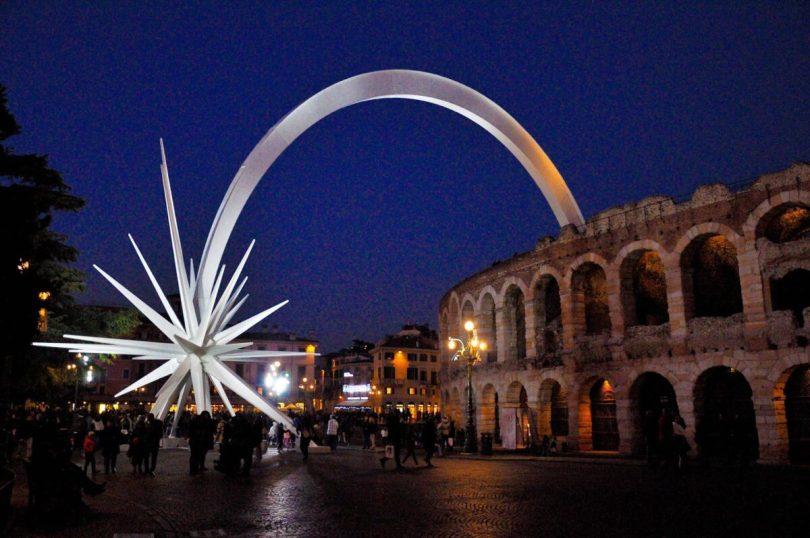 The Christmas Star - Arena di Verona, Verona, Veneto, Italy - rossiwrites.com