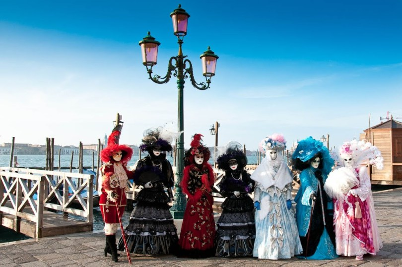 Masks - Venice Carnival - Italy - www.rossiwrites.com