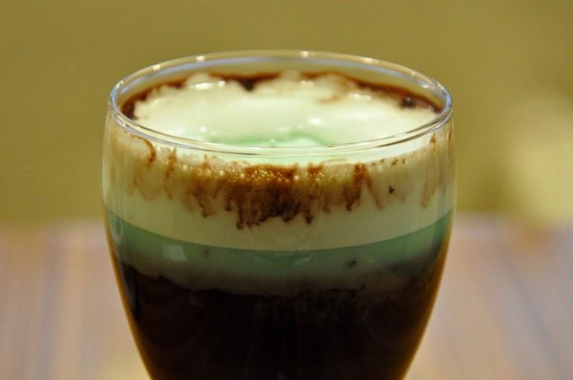 Cioccomenta - Hot Chocolate with mint, La Triestina Coffee House, Vicenza, Veneto, Italy