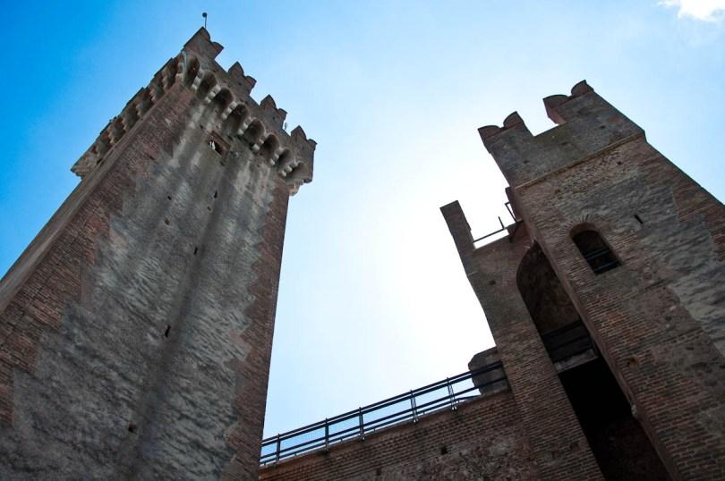 The Scaligeri Castle, Valeggio sul Mincio, Italy