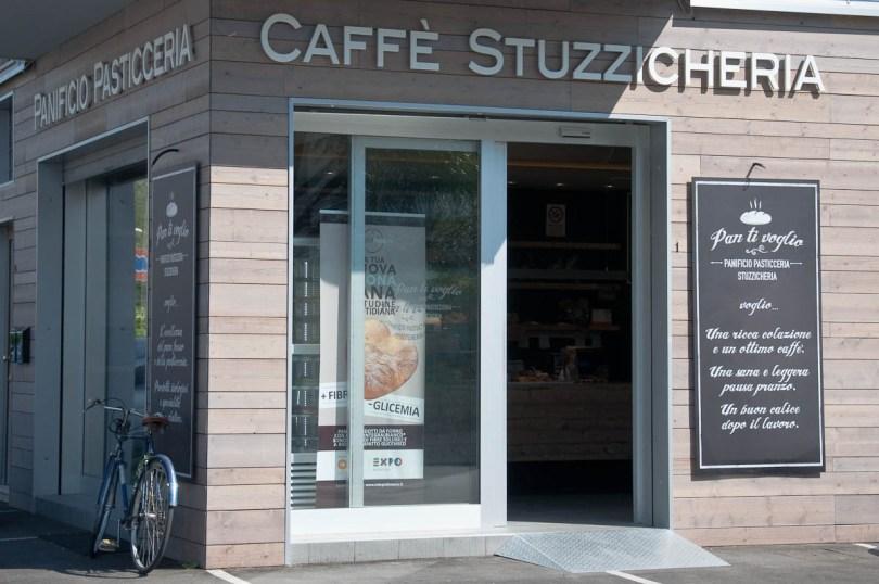 Cafe Stuzzicheria Pan ti Voglio, Vicenza, Italy - www.rossiwrites.com