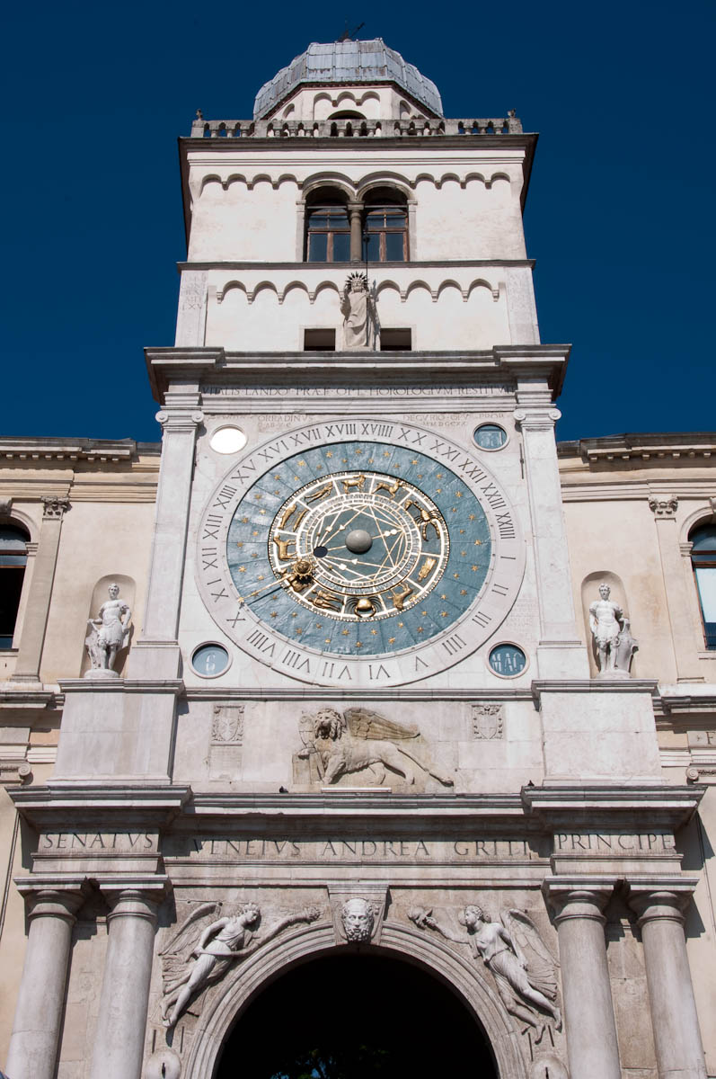 The Clock Tower, Padua, Italy - www.rossiwrites.com