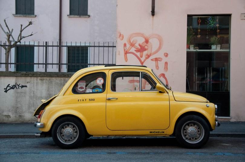 Fiat 500, Vicenza, Veneto, Italy - www.rossiwrites.com
