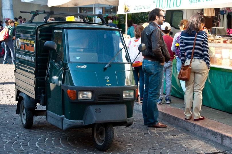 Green Ape50, Padua, Veneto, Italy - www.rossiwrites.com