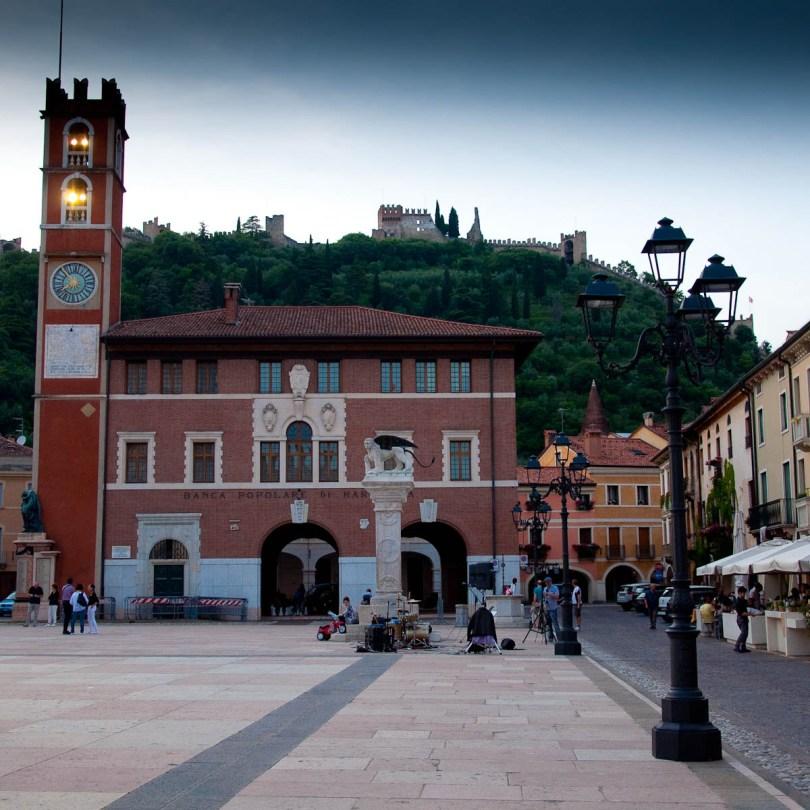The main square, Marostica, Veneto, Italy - www.rossiwrites.com