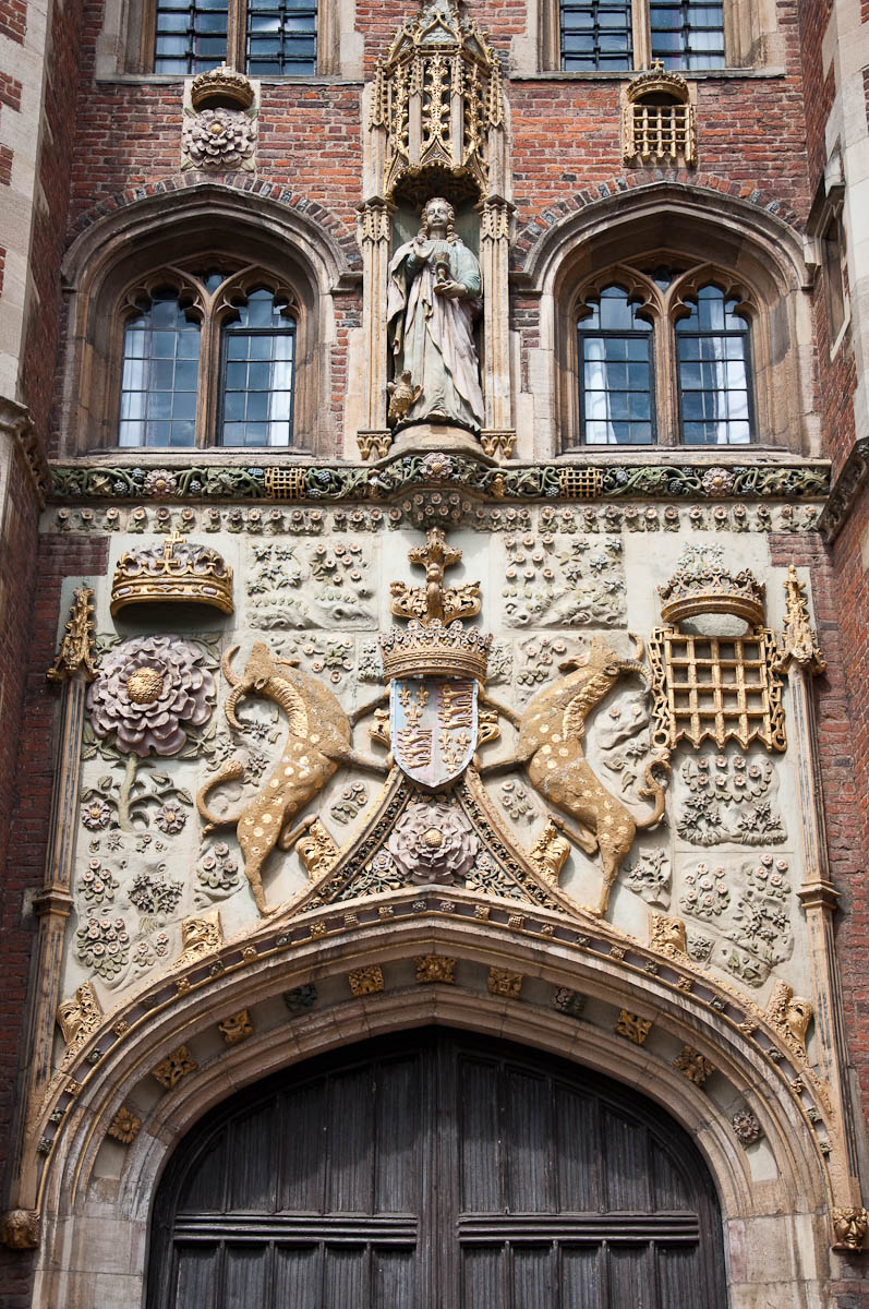 The Great Gate, St. John's College, Cambridge, England - www.rossiwrites.com