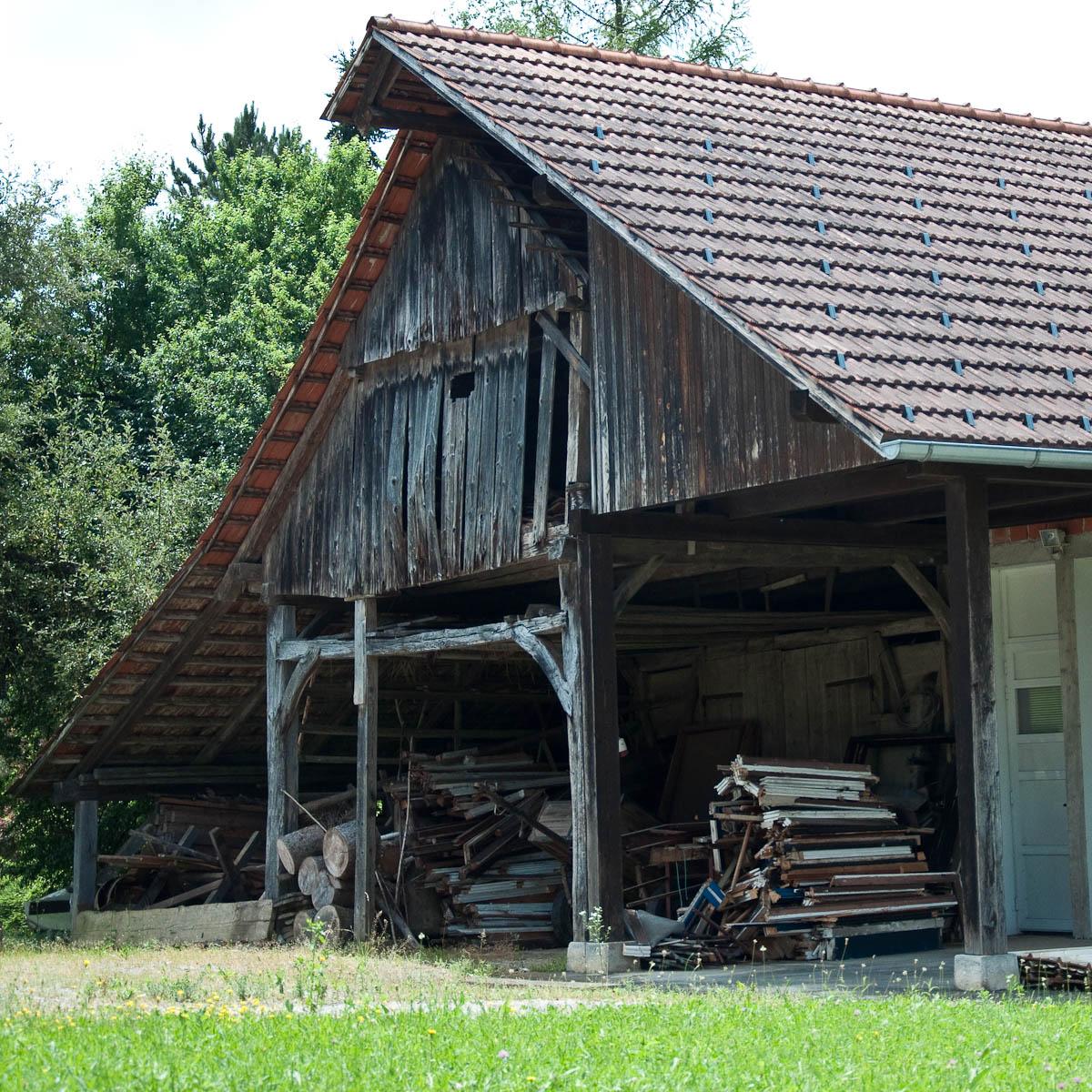 Slovenia's Traditional Hayrack Barns