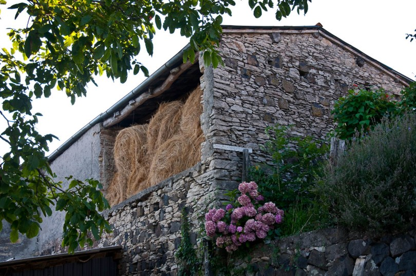 Barn with hay, Bolca, Province of Verona, Italy - www.rossiwrites.com