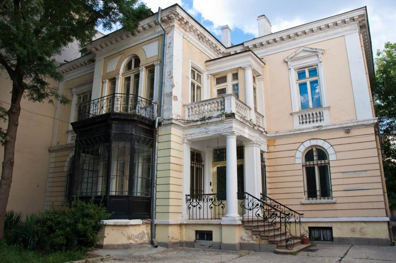 Beautiful old-fashioned house in the centre of the capital, Sofia, Bulgaria - www.rossiwrites.com