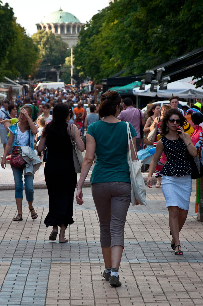 Boulevard Vitosha, Sofia, Bulgaria - www.rossiwrites.com